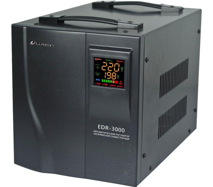 Однофазный симисторный стабилизатор Luxeon мощностью 2,1 кВт