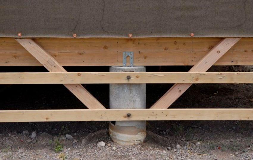 Столбчатый фундамент - простой в монтаже и доступный по стоимости материалов