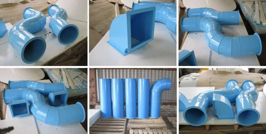 Вентиляционные трубы и комплектующие из полипропилена