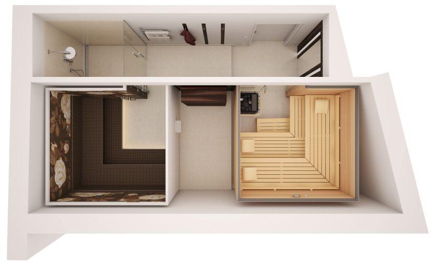 Планирование вентиляционной системы необходимо осуществить еще на стадии разработки дизайн-проекта банного помещения