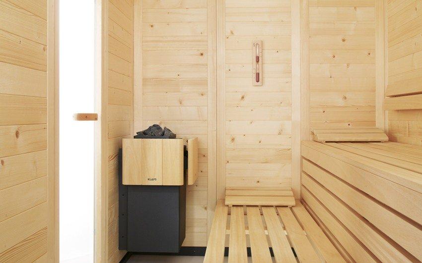 Тип вентиляционной системы выбирается в зависимости от материалов, из которых построена баня
