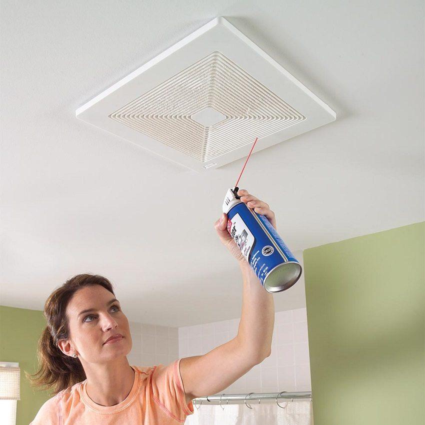 Чтобы вентиляция была эффективной, следите за чистотой решётки и вентканала