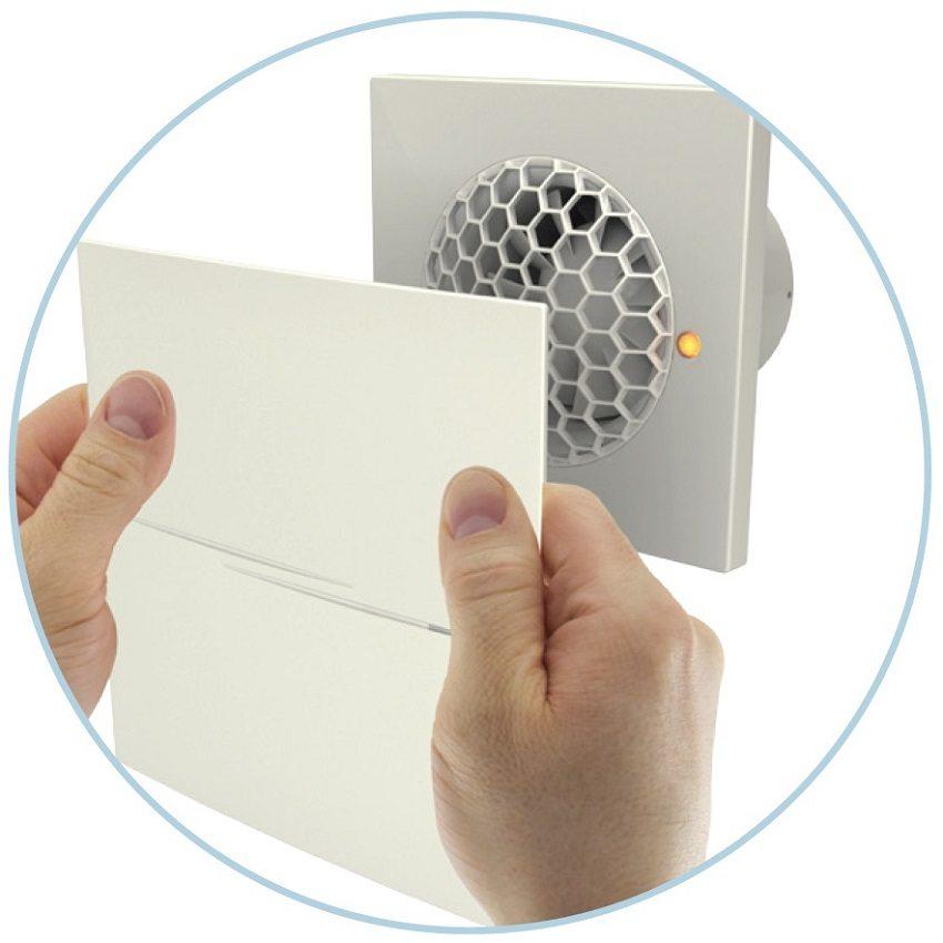 Приемлемыми вентиляторами для вытяжки в ванной будут модели, работающие на шарикоподшипниках - они бесшумны и долговечны