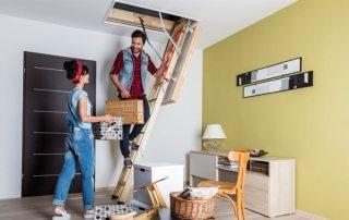 Чердачная лестница с люком: простота, практичность и доступность
