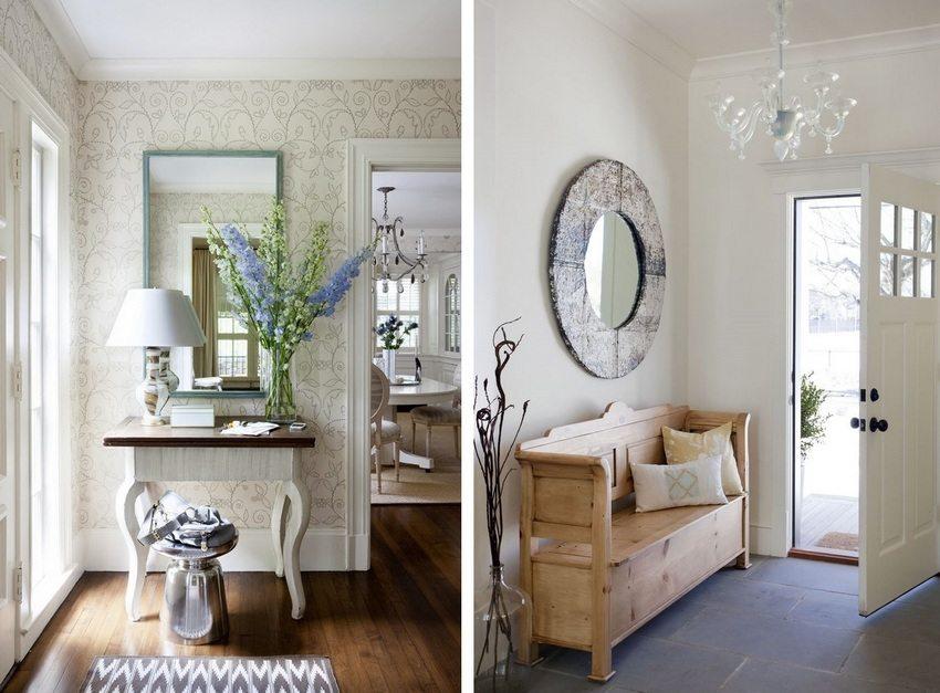 Правильно подобранное зеркало и его рама могут стать настоящим украшением интерьера
