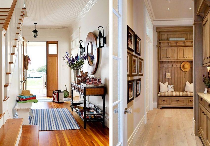 Освещение в прихожей зависит от выбранного оформления потолка