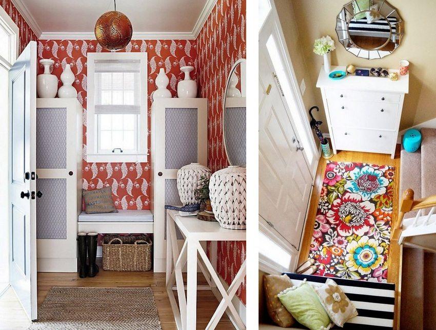 В дизайне небольшой прихожей важно использовать действительно уместные и практичные элементы декора и мебель