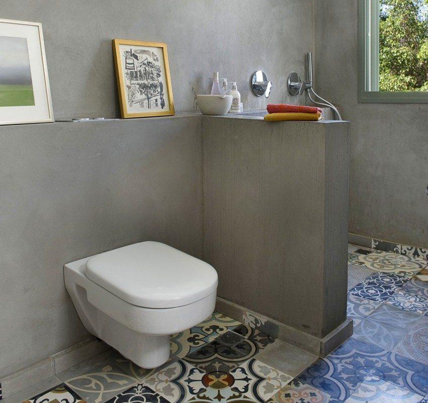 """Оформление ванной в стиле """"минимализм"""""""