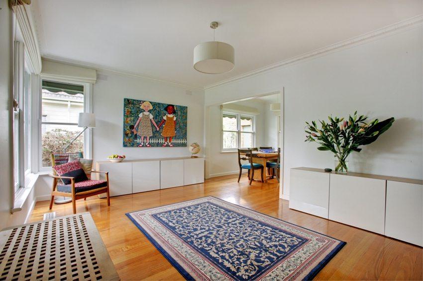 Стиль минимализм предполагает минимум мебели и предметов декора