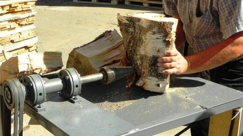 Гидравлический колун дров своими руками 828