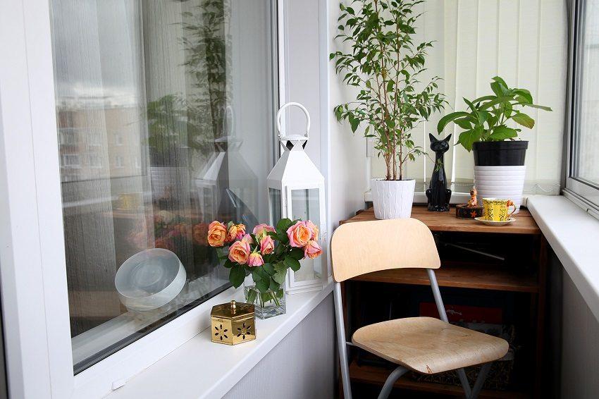 Теплый и комфортный балкон может стать вашим любимым местом отдыха