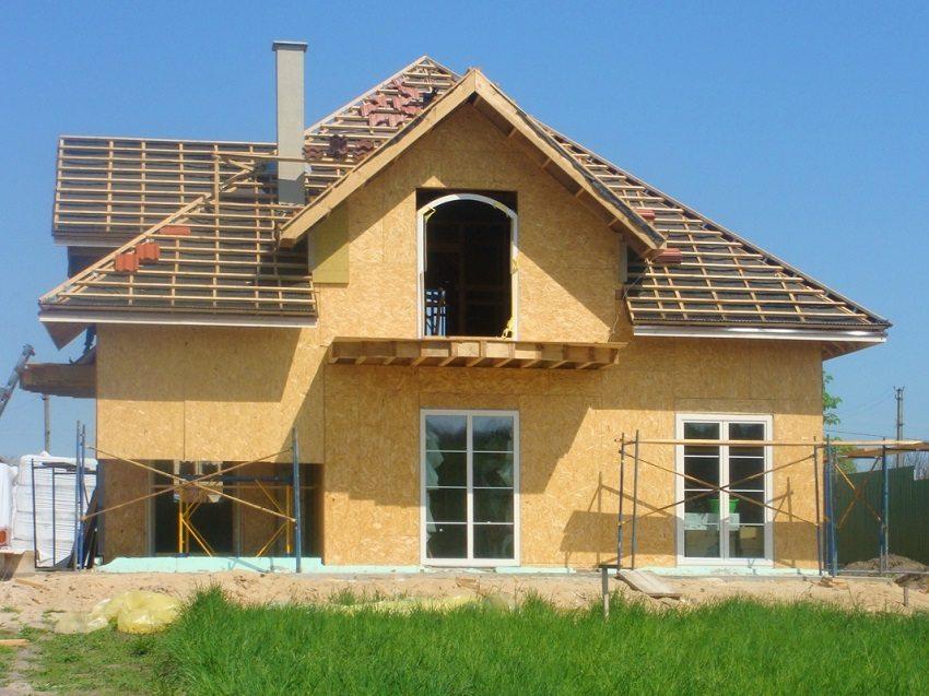 каркасный дом из осб своими руками пошаговая инструкция - фото 6