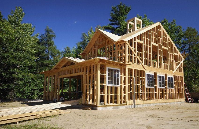 Каркасный дом можно построить за два месяца