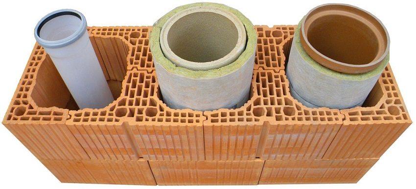 Керамические трубы - популярный материал для обустройства дымохода твердотопливного котла