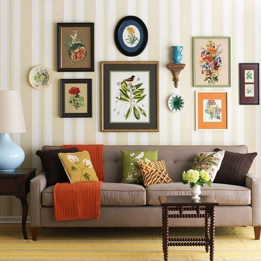 Использование естественных оттенков создает умиротворенную и уютную атмосферу в помещении