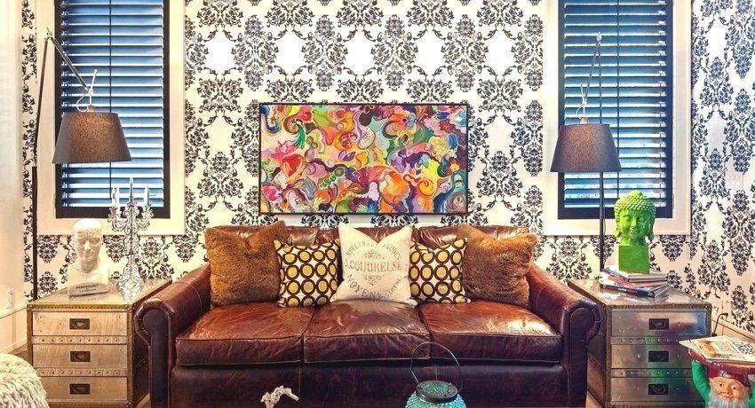 Обои в зал в квартире: фото идеи для создания оригинального интерьера
