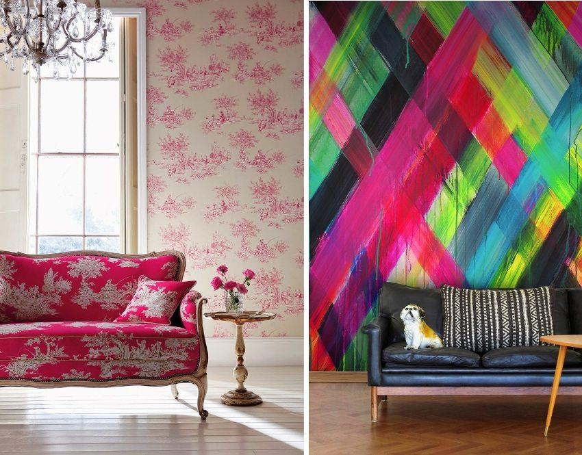 Обои для зала следует выбирать исходя из общего стилевого решения квартиры