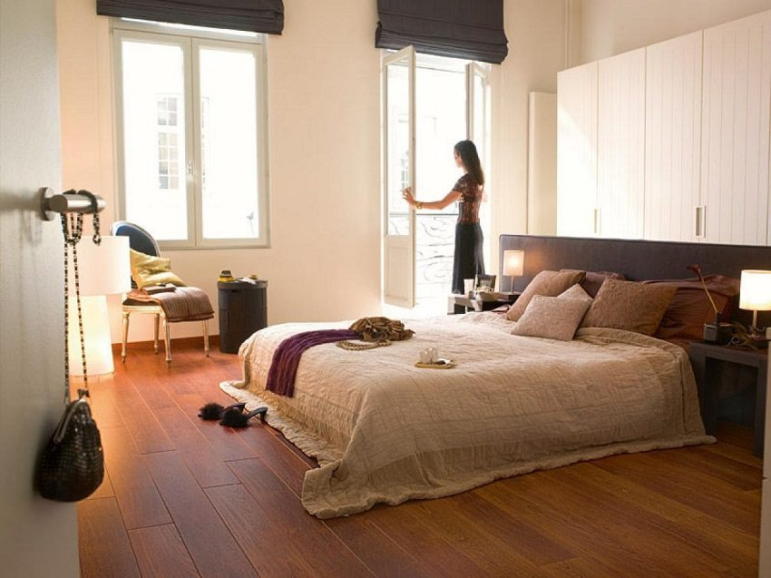 Parquet floor - warm and comfortable covering