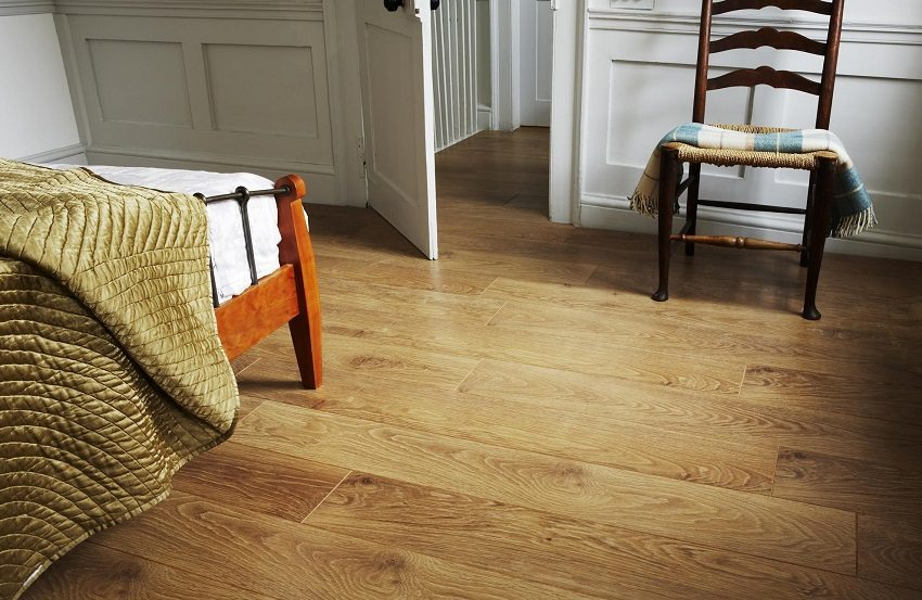 Laminate - a popular way of arranging the floor
