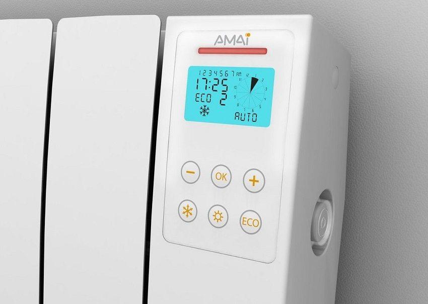 Радиатор отопления со встроенным терморегулятором