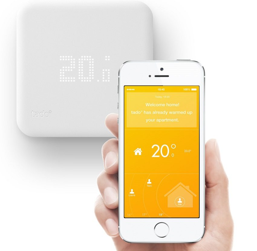 Современный терморегулятор со встроенным датчиком управляется с мобильного телефона