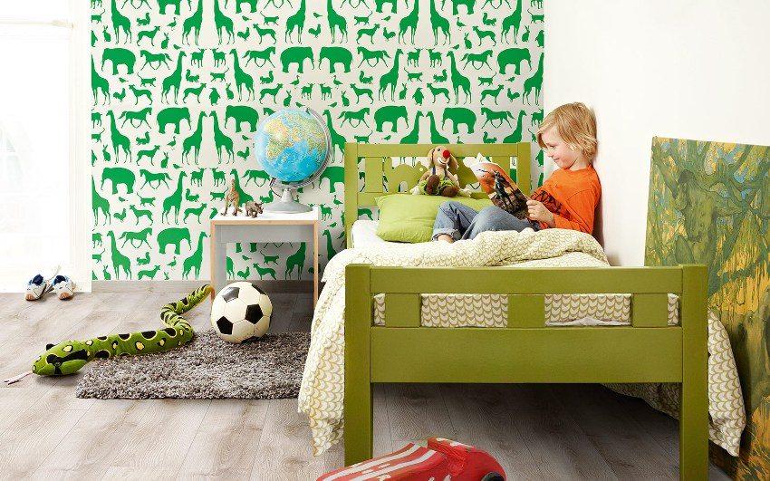 Для детской комнаты лучше выбрать ламинат с маркировкой класса безопасности Е1