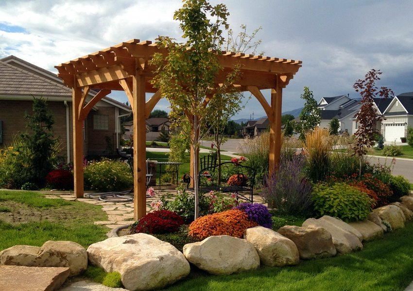 Пергола в саду - ваш уголок уюта