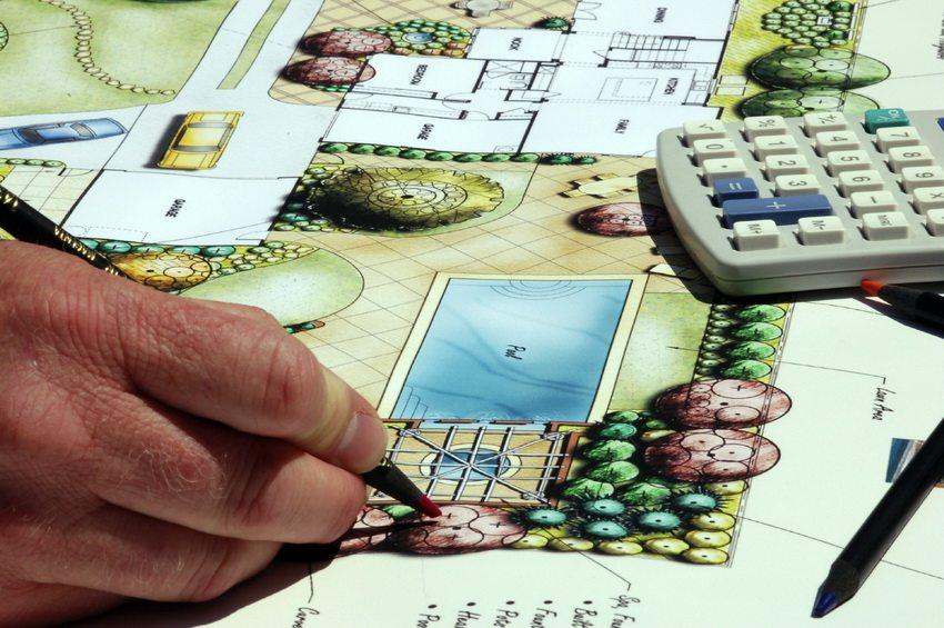 Планирование - самый важный этап создания ландшафтного дизайна участка