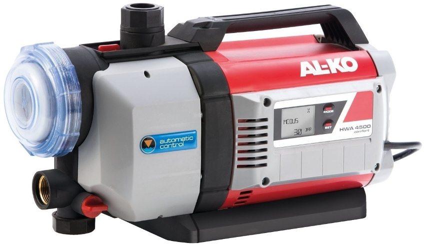 Насосная станция AL-KO HWA 4500 Comfort с производительностью 4500 л/час