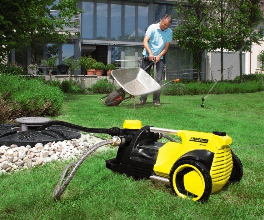 Насосная установка может использоваться для подачи питьевой воды и организации полива