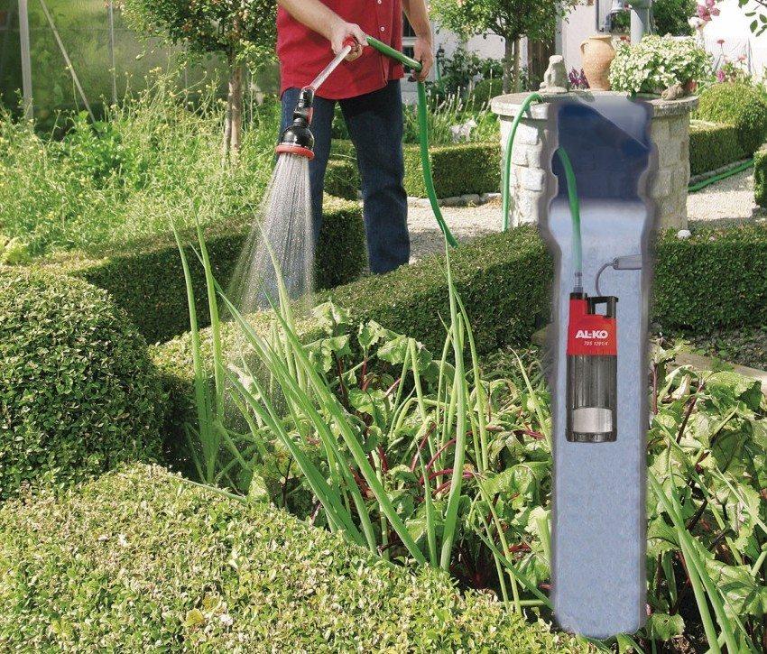 Погружной насос для колодца на загородном участке