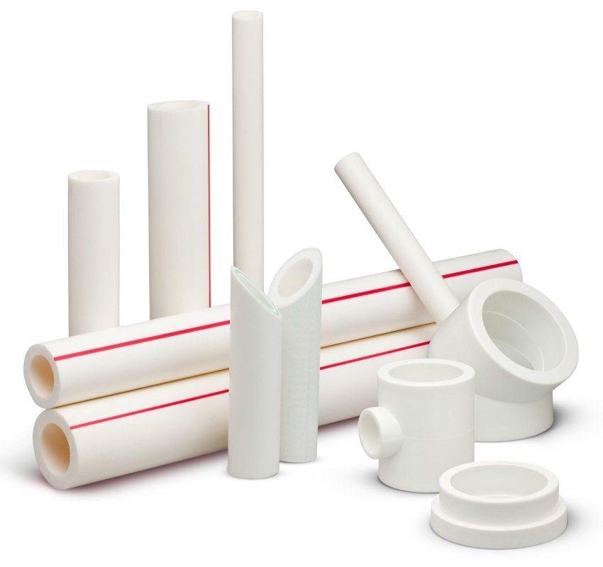 Полипропиленовые трубы могут быть армированы стекловолокном или алюминием