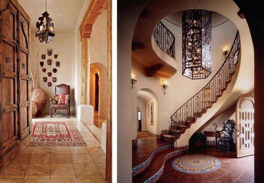 С помощью напольной плитки можно создать уникальный интерьер помещения