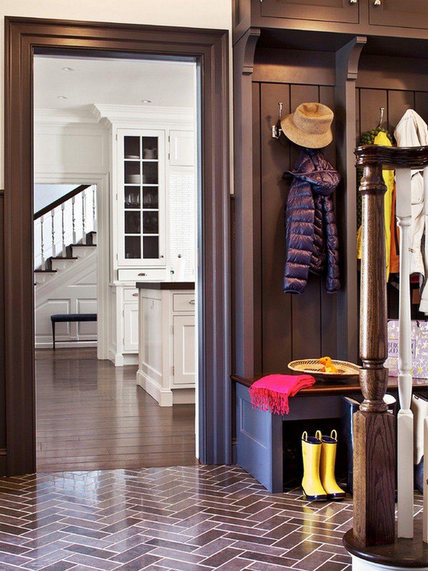 Напольная плитка должна гармонично вписываться в общий интерьер помещения