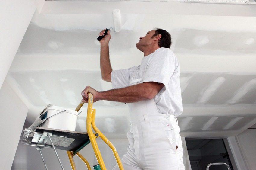Выравнивание швов на гипсокартонном потолке