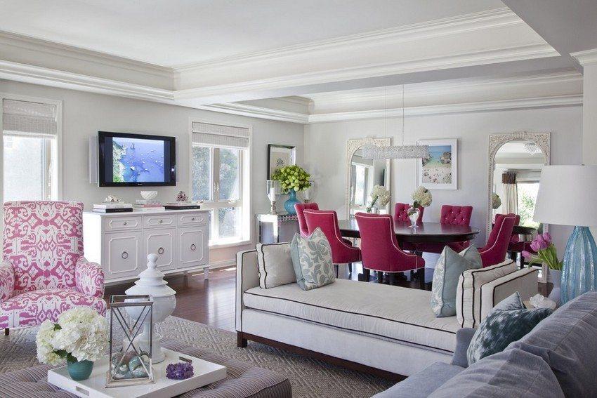 Дизайн потолка влияет на весь визуальный облик комнаты