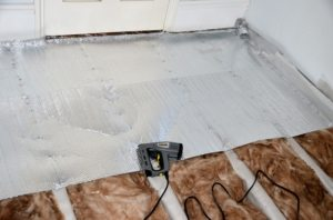 Сочетание пенофола и минеральной ваты для лучшей теплоизоляции