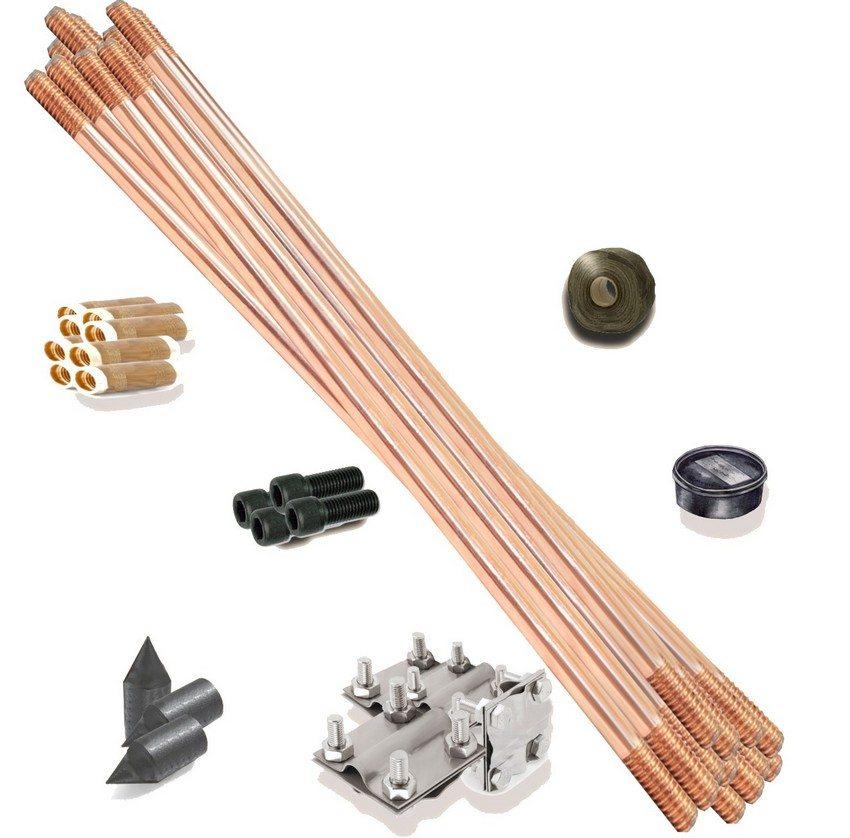 Пример комплекта заземления от заводского производителя
