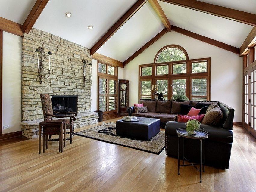 Дровяные камины для дома: стильный акцент в загородном интерьере