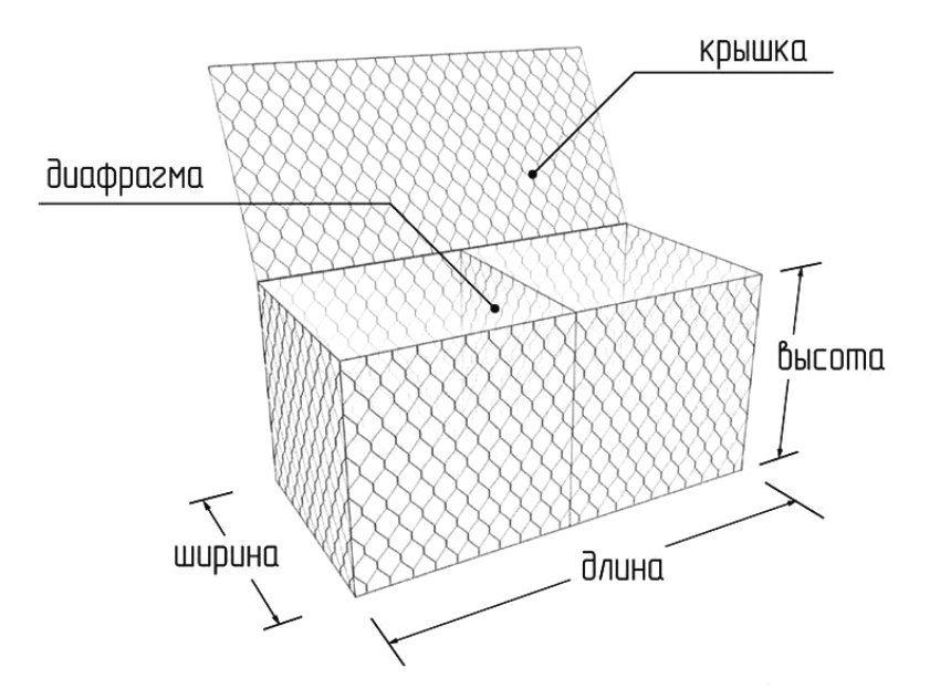 """Габионы коробчатой конструкции носят название """"джамбо"""""""