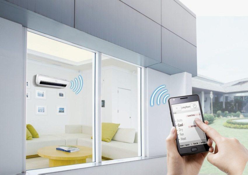 Современные технологии позволяют управлять кондиционером с мобильного устройства