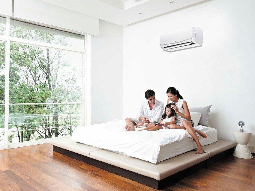 """Для установки в спальне лучше выбрать прибор с функцией """"ночной режим"""""""