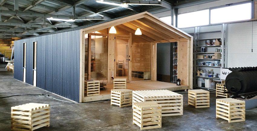 Возведение типового модульного здания на заводе не требует много времени