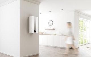 Плоский накопительный электрический водонагреватель 50 литров