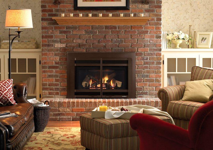 Огнеупорный кирпич идеально подходит для кладки каминов и печей