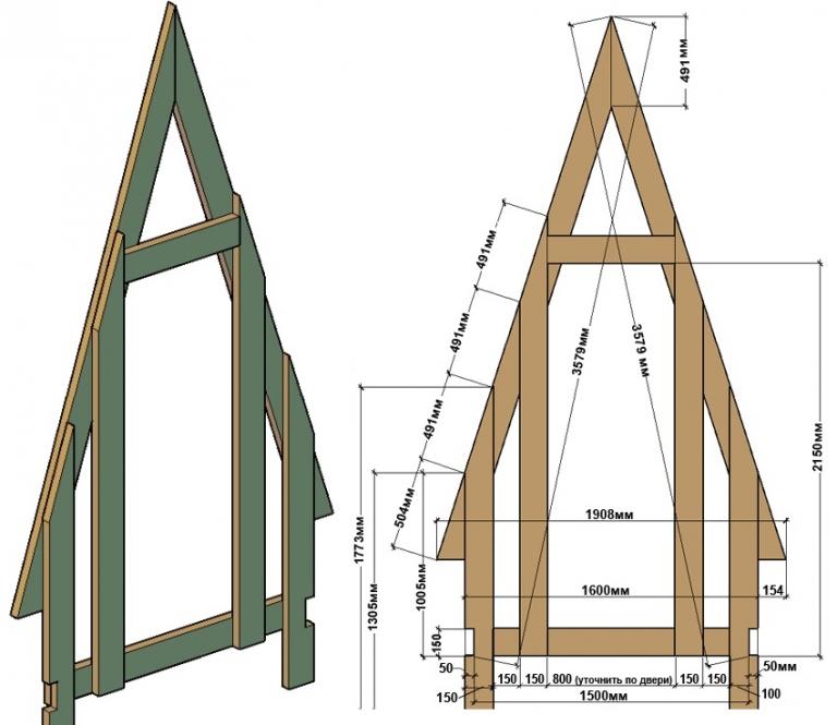 Построить дачный туалет своими руками проект 355