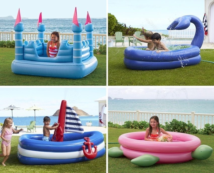Современный рынок предлагает широкий выбор детских надувных бассейнов