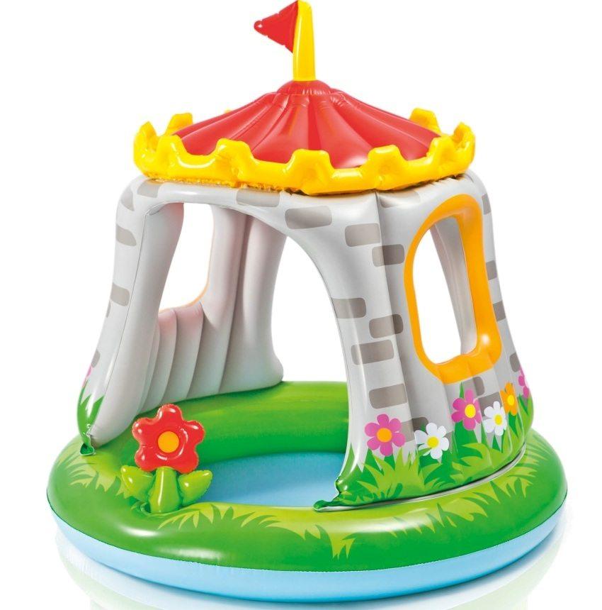 """Детский бассейн """"Замок"""" (Китай), средняя цена в интернет-магазинах 1290 рублей"""