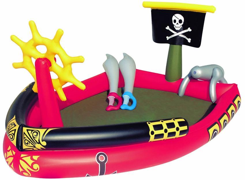 """Детский бассейн """"Пираты"""" (Китай), средняя цена в интернет-магазинах 1400 рублей"""