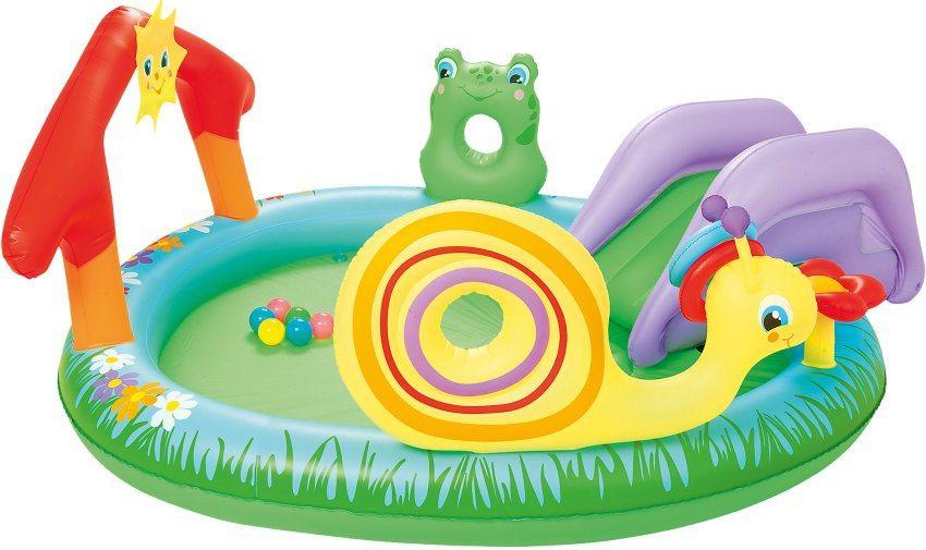 """Детский бассейн с распылителем """"Bestway"""" (Китай), средняя цена в интернет-магазинах 3300 рублей"""